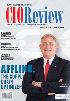 Claritum selected as one of the 20 Most Promising Supply Chain Tech Solution Providers 2016   by CIOReview Claritum